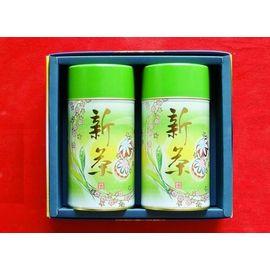 2015新茶200g缶×2